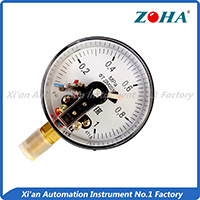 YX,YXC series pressure gauge with electric contact