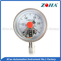 Special electric contact pressure gauge with magnetic 17